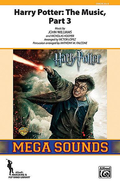 【マーチング 楽譜】「ハリー・ポッター・メドレー」パート3(クローザー)