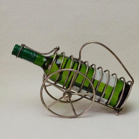 フランスブロカント  ワイン ホルダー (大砲型)