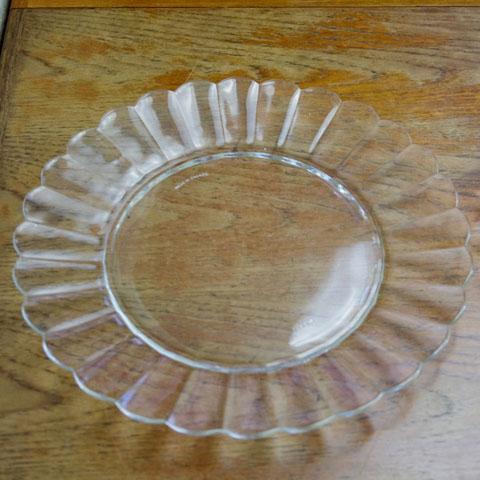 フランス製 オールド・デュラレックス マーガレット皿(27cm)