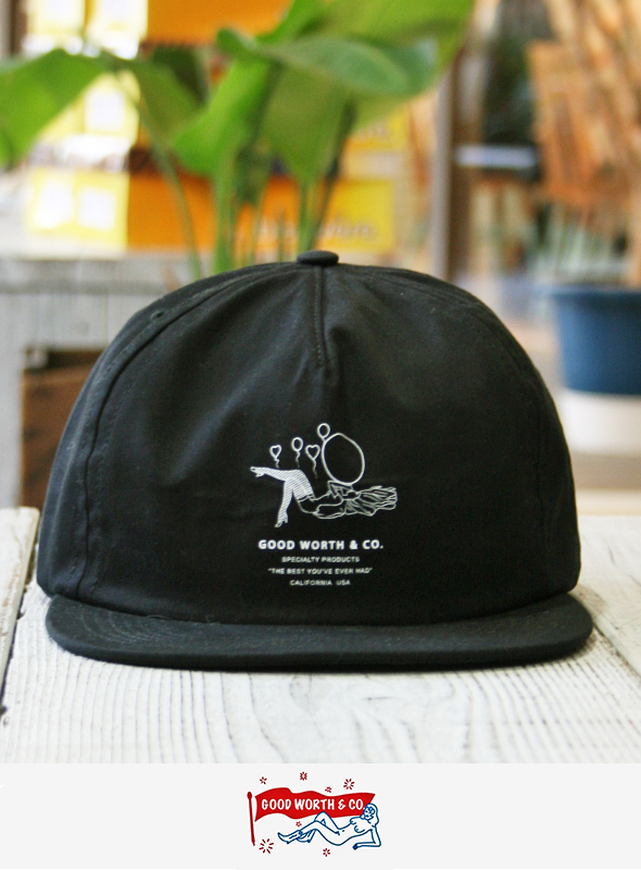 Good Worth  グッドワース BALLOON GIRL SNAPBACK  BLACK