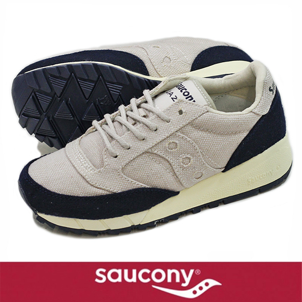 Saucony サッカニー JAZZ 91 LT.BEIGE/NAVY