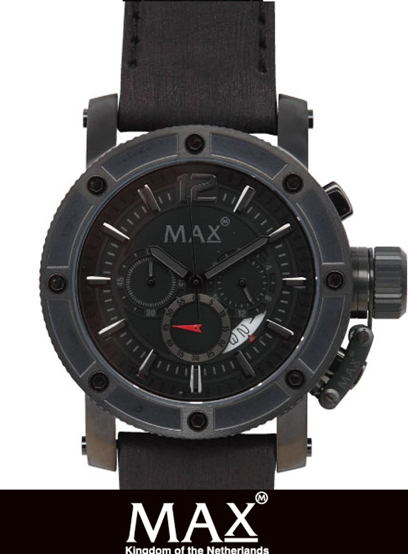 MAX XL WATCH 5-MAX 661 BLACK/BLACK