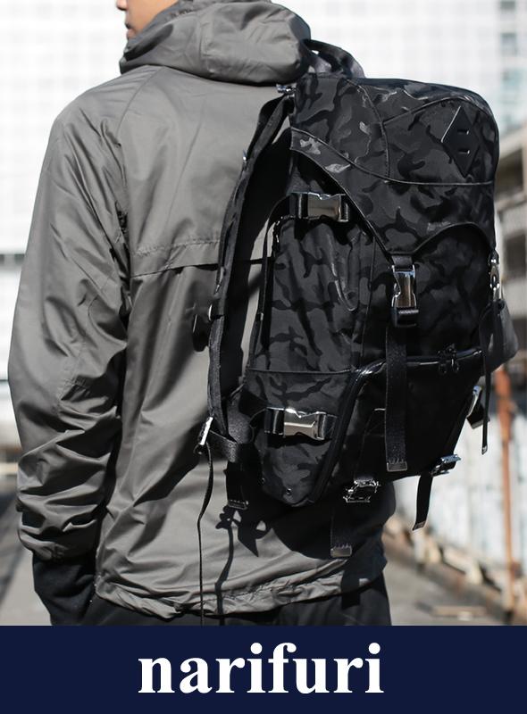 narifuri ナリフリ Jacquard camouflage back pack S (NF994)