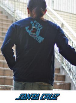 SANTA CRUZ サンタクルーズ SCREAMING HAND スクリーミングハンド L/S Tシャツ