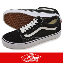 VANS バンズ OLD SKOOL BLACK/WHITE