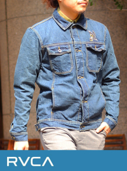 RVCA (ルカ)  AG041750 DENIM COVERALL