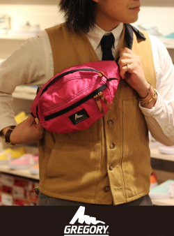 GREGORY グレゴリー Tailmate Waist Porch Fuchsia(Pink) MADE IN USA