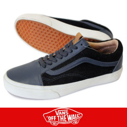 VANS バンズ OLD SKOOL REISSUE CA OMBER BL/BLACK