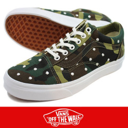 VANS バンズ Old Skool  Camo Polka Dot