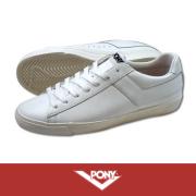 PONY �ݥˡ� TOPSTAR EMPIRE PREMIUM LEATHER WHITE/WHITE
