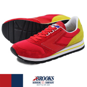 BROOKS �֥�å��� HERITAGE CHARIOT �إ�ơ��� ����ꥪ�å� RED/YELLOW (618)
