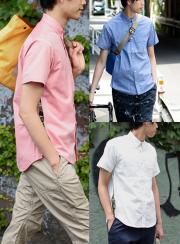 narifuri �ʥ�ե� Ventilation short sleeve shirt��NF788��