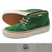 VANS �� 50th CHUKKA BOOT 49 REISSUE��GREEN SUEDE