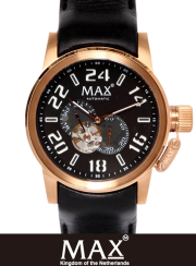 MAX XL WATCH 5-MAX 529 RoseGold/Black