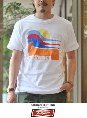 Tailgate �ƥ��륲���� S/S TEE  COLOR WAVE WHT