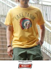 Tailgate �ƥ��륲���� S/S TEE  LAKE TAHOE  MAIZE