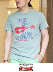 Tailgate �ƥ��륲���� S/S TEE THE END  RUGGED GRN