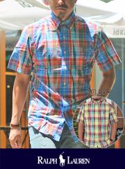 POLO RALPH LAUREN �ݥ� ���ե?��� Madras Check Shirt
