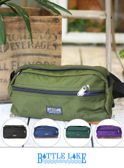 BATTLE LAKE SPECIAL MAKE WAISTBAG 【全5色】