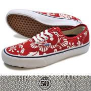 VANS �Х� 50th AUTHENTIC PRO '66DUKE/RED/WHITE