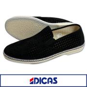 DICAS �ǥ����� �쥶���ѥ������åݥ� BLACK
