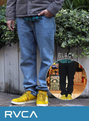 RVCA (�륫) HER DADS DENIM PANTS��ALEX KNOST COLLECTION��