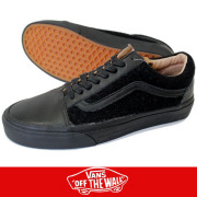 VANS バンズ OLD SKOOL REISSUE CA BLACK/BLACK