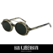 HAN KJOBENHAVN �ϥ� ���ڥ�ϡ����� DOC CLIP-ON ���饹 WOLF/SUN(GREEN)