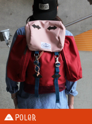 POLeR �ݡ��顼  RUCKSACK RED SIDE BAGS