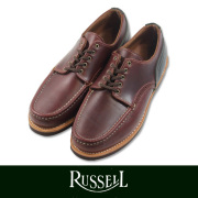 RUSSELL MOCCASIN ��å���⥫���� COUNTRY OXFORD  BUG/D.GRN(paper����)