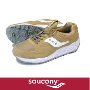 Saucony ���å��ˡ� GRID9000  Beige/White