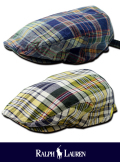 POLO RALPH LAUREN ポロ ラルフローレン MADRAS CHECK HUNTING CAP