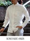 INDIVIDUALIZED SHIRTS インディヴィジュアライズドシャツ GOLF COLLAR STANDARD FIT BD SHIRT