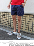 MADE BY JIMMY(メイドバイジミー) PEGGY Dot design shorts