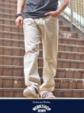 Universal Works ユニバーサル ワークス  Regular Fit Jeans  NATURAL