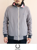 FRED PERRY パイル トラックジャケット GRY