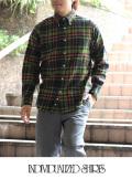 INDIVIDUALIZED SHIRTS インディヴィジュアライズドシャツ フランネルチェック スタンダードフィット