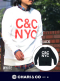 CHARI&CO チャリアンドコー COMPANY CREW SWEAT