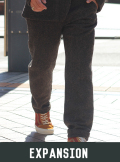 EXPANSION エクスパンション GLEN COVE PANTS CHEVIOT TWEED