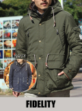 FIDELITY フィデリティー  DOWN DECK PARKA