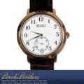 BrooksBrothers レザーベルトクロノグラフウォッチ 腕時計BROWN