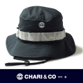 CHARI&CO チャリアンドコー  BUSHMASTER HAT BLACK