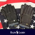 POLO RALPH LAUREN ポロ ラルフローレン Quilted Racing Glove