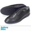 Anthony Miles アンソニーマイルズ CLIPSTONE LEATHER BLACK