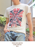 What Comes Around Goes Around WGACA BURST S/S TEE