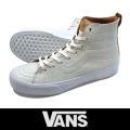VANS バンズ SK8-HI Decon Ca (Premium Leather) Winter White