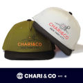 CHARI&CO チャリアンドコー  SNAP BACK  BEACH LOGO STARTER CAP【2色】