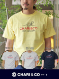 CHARI&CO チャリアンドコー BEACH LOGO TEE (4色)