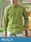 RVCA (ルカ) AF042100 L/Sシャツ CED