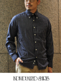 INDIVIDUALIZED SHIRTS インディヴィジュアライズドシャツ  Stripe  STANDARD SHIRT